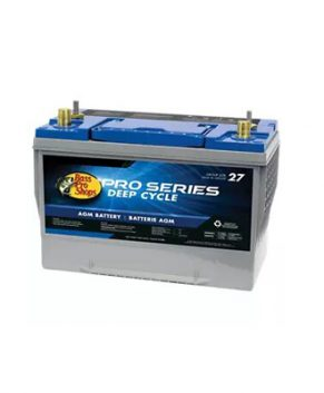 Bass Pro Shops Pro Series Deep-Cycle AGM Marine Battery